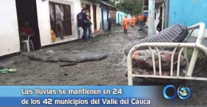 Invierno en el Valle ha dejado 250 familias afectadas