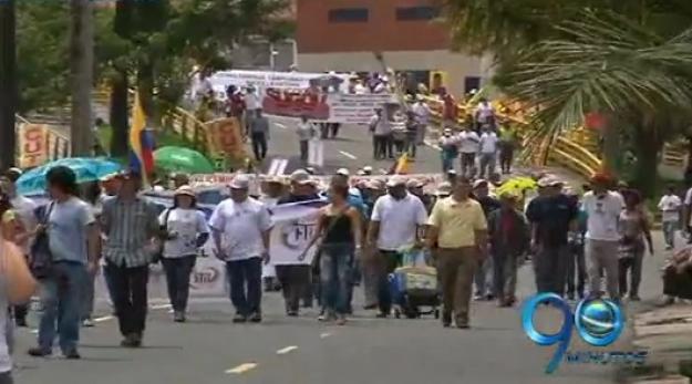 En Cali se presentaron marchas en contra del nuevo POT