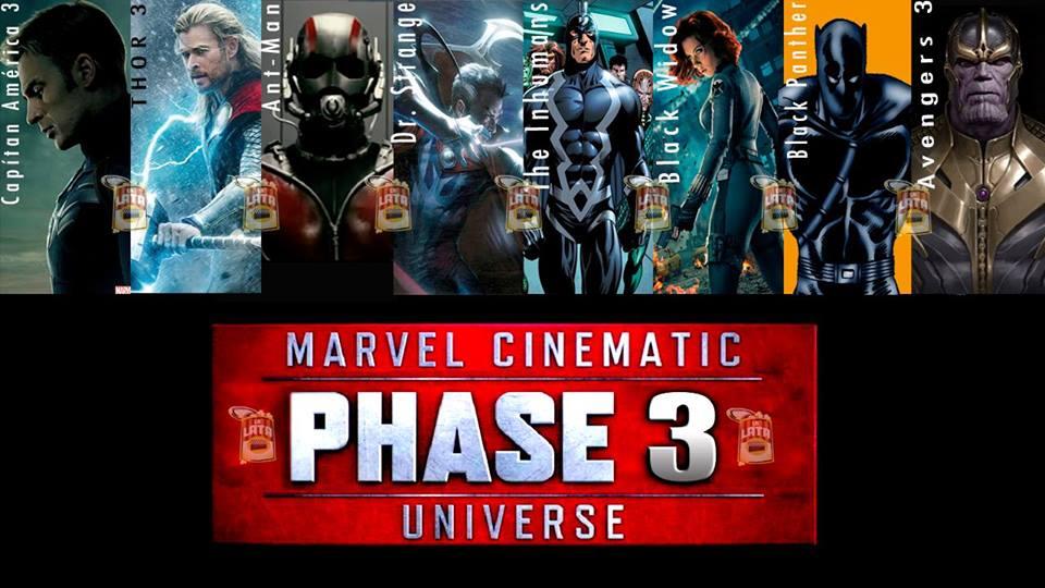 Marvel dio a conocer sus próximos estrenos