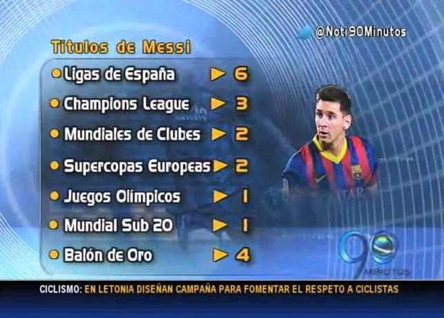 El argentino Lionel Messi cumple 10 años de éxitos en el Barcelona
