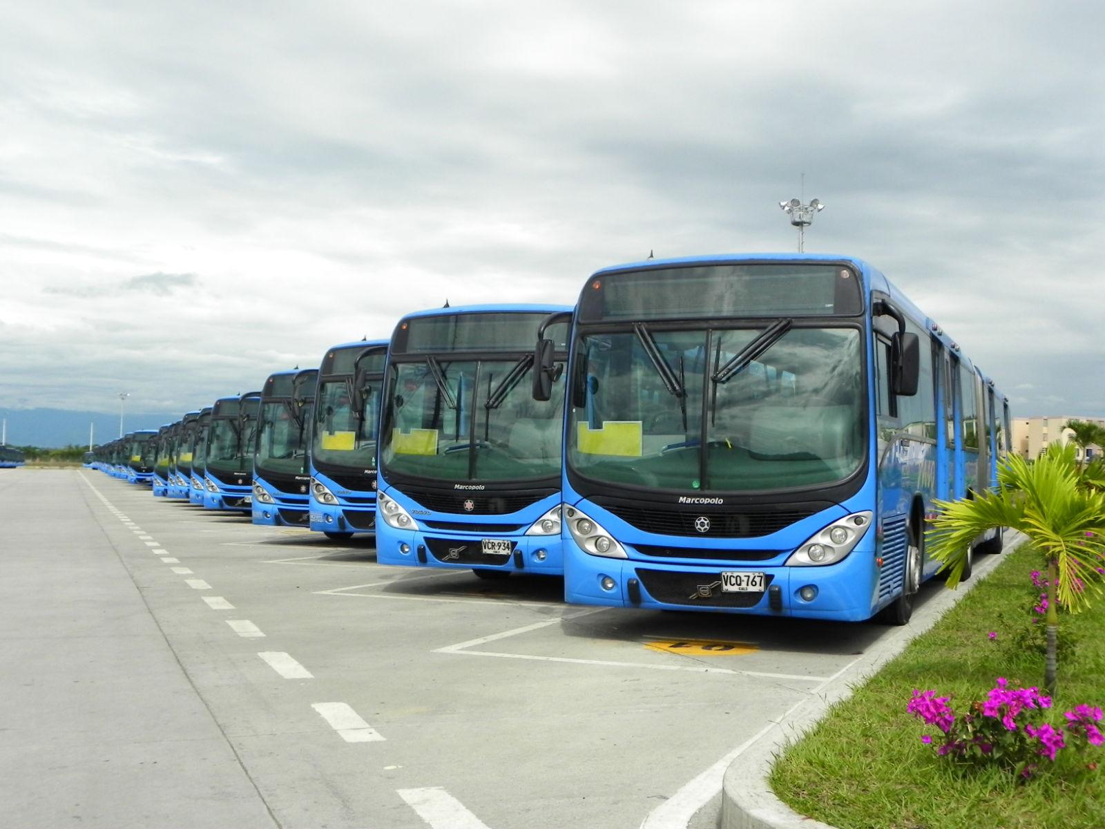Para finales de octubre flota del MIO sería de 872 buses