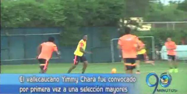 Yimmy Chará llega por primera vez a la Selección Colombia de mayores