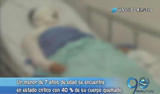 Cuatro heridos dejó explosión de un compresor de pintura en Siloé