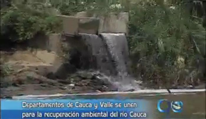 Gobernaciones trabajan para salvar el Río Cauca