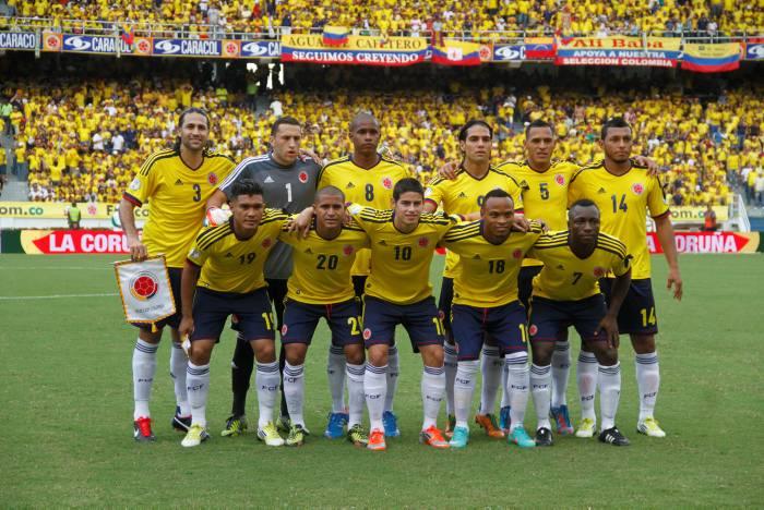 Colombia sigue siendo la tercera del mundo según la Fifa
