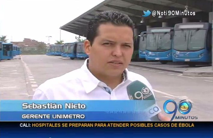 perador Unimetro no firmará contrato de renegociación con Metrocali