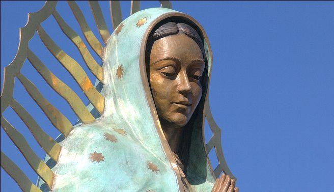 Llega al Valle imagen oficial de la Virgen de Guadalupe