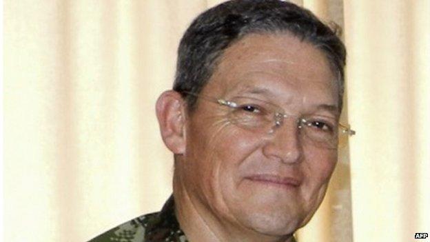 Revelan detalles del secuestro del General Alzate en Chocó