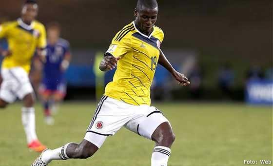 Colombia derrotó a Eslovenia con gol de Adrián Ramos