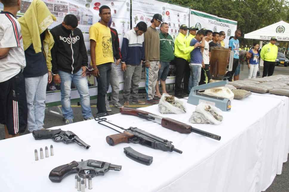 Tres estructuras criminales fueron desarticuladas por la Policía