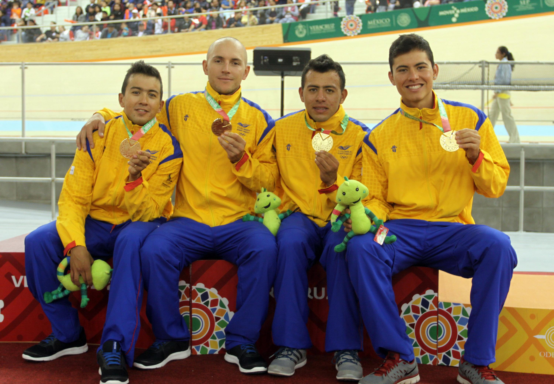 Ocho oros suma la delegación colombiana en México