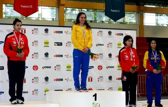 Vallecaucana logra oro en esgrima en Juegos Centroamericanos