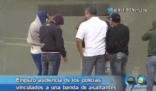 Así operaba la banda de asaltantes integrada por policías