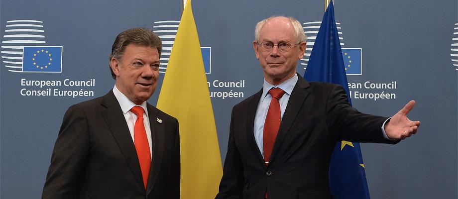 Colombia confirma apoyo del Consejo Europeo en posconflicto