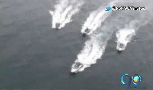 Dos pasajeros siguen desaparecidos tras choque de dos lanchas en Nariño