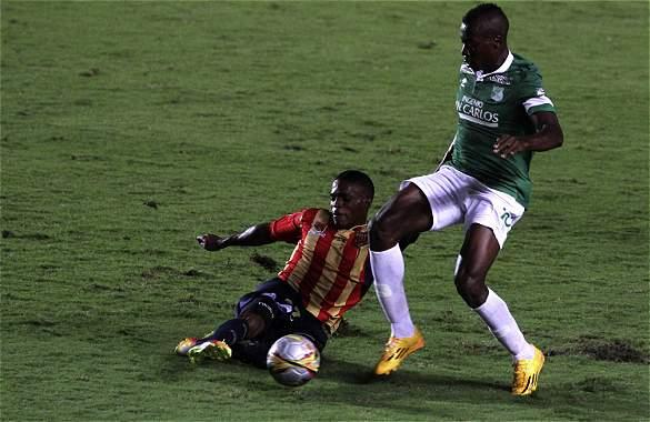 Deportivo Cali empató 2-2 frente a Águilas Doradas de Pereira