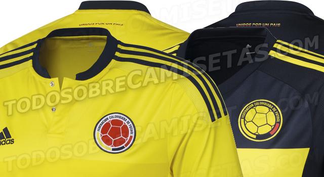 Se filtra el posible diseño de la camiseta de la Selección Colombia