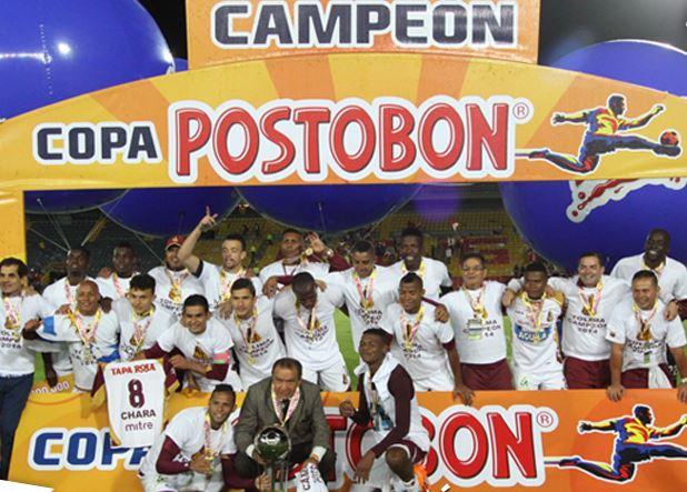 Tolima perdió en Bogotá, pero se coronó campeón de la Copa Postobón