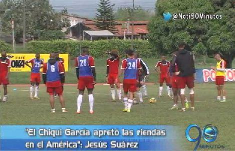 """""""El 'Chiqui' García 'apretó' las riendas en el América"""": Jesús Suárez"""