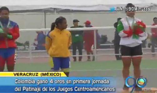 Ciclismo, patinaje y natación le dieron oro a Colombia en Centroamericanos
