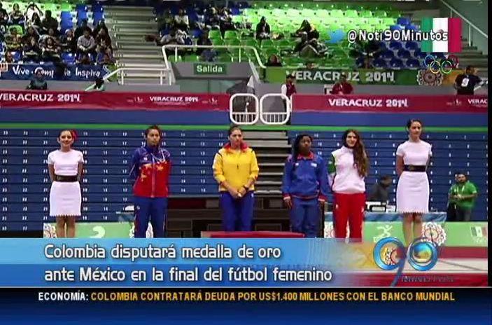 Colombia continúa en el tercer lugar del medallero de los Centroamericanos