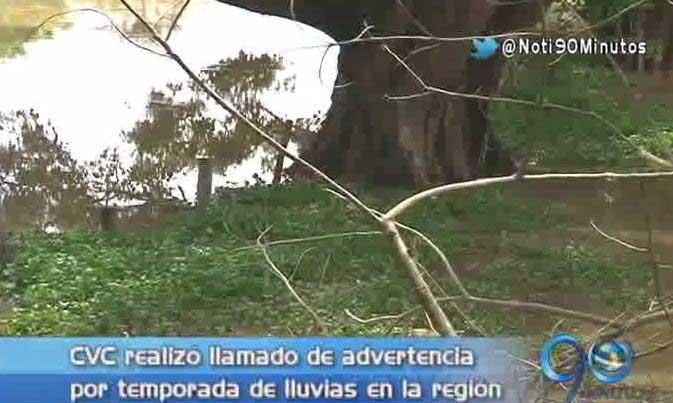 CVC alerta por temporada de lluvias en la región