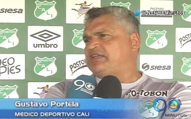 El delantero Carlos Rivas tendrá 3 semanas de incapacidad