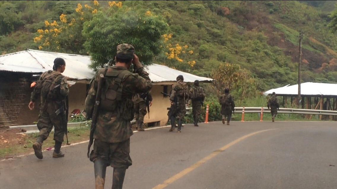 Cesan enfrentamientos entre Farc y Ejército en Caloto, Cauca