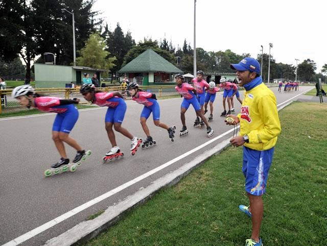 Colombia lista para competir en el Mundial de Patinaje en Argentina