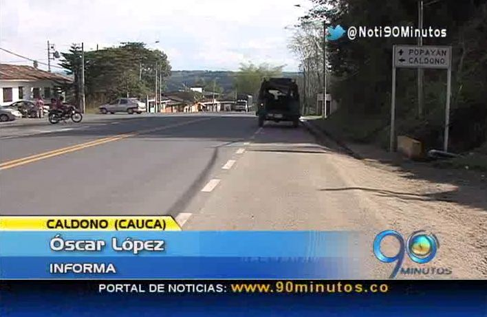 Serie Por las Vías de la Región. Vía a Caldono, Cauca