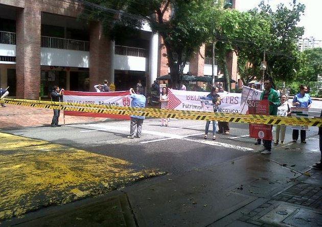Estudiantes de Bellas Artes se tomaron la sede en Cali