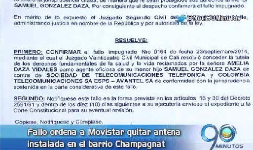 Vecinos del barrio Champagnat reclaman el retiro de antena de telefonía celular