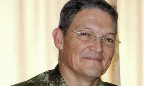 ¿Quién es el general Rubén Darío Alzate?