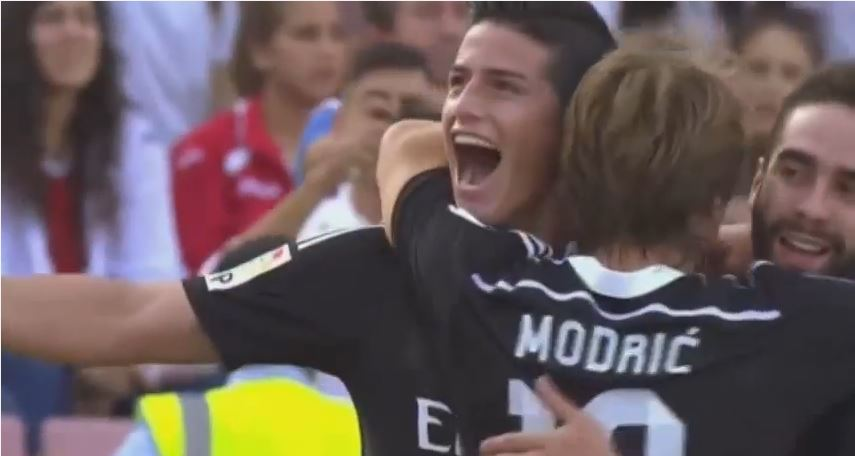Con Goles de James Rodríguez Real Madrid derrotó al Granada