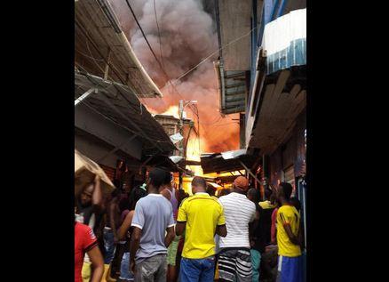 Más de 40 casas y locales afectados por incendio en Olaya Herrera, Nariño