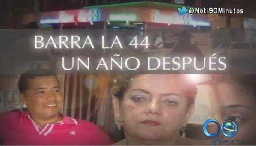 Informe Especial: Barra la 44, un año después (2a. parte)