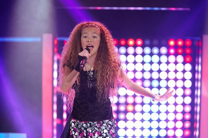 Ivanna, ganadora de la primera temporada de 'La Voz Kids'