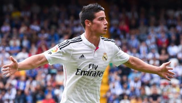 El 10 del Madrid, James Rodríguez, entre los nominados al 'once del año'