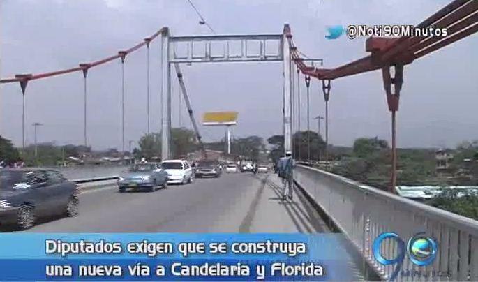 Gobernador pide aprobación de vigencias futuras para puente de Juanchito