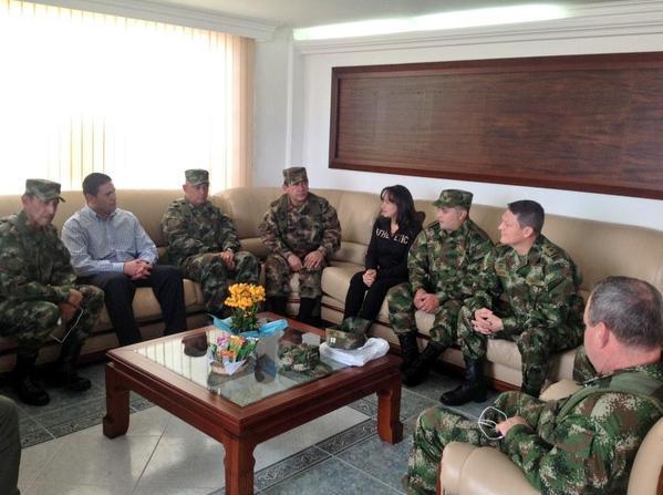 Liberados por las Farc ya están en Hospital Militar de Bogotá
