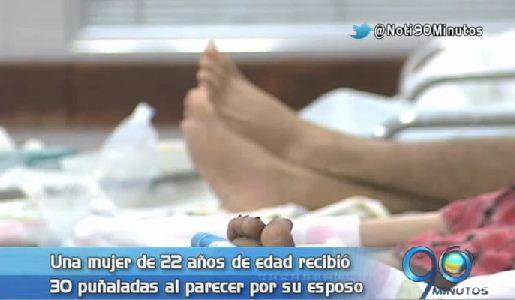 En el HUV permanece mujer herida gravemente por su pareja en un motel de Cali