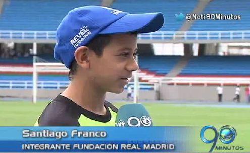 Niños de las comunas de Cali viajarán a España a conocer al Real Madrid