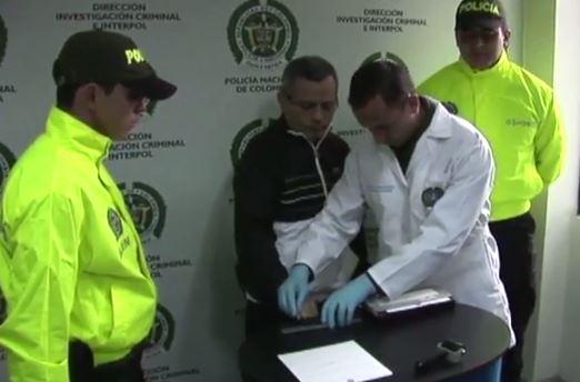 Así fue la llegada de Rodrigo Orellana a Bogotá después de su captura