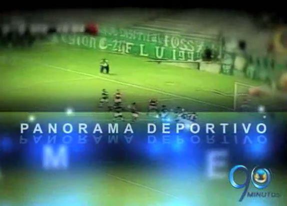Conozca la información de deportes en nuestro Panorama Deportivo 90