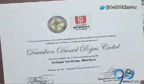 Treinta estudiantes del Valle recibieron el Premio a la Excelencia Académica