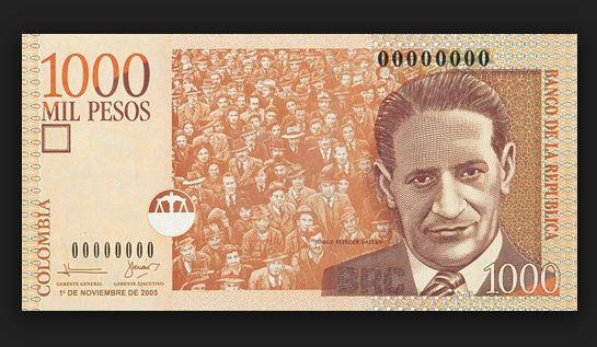 Banco de la República reimprimirá los billetes de mil pesos