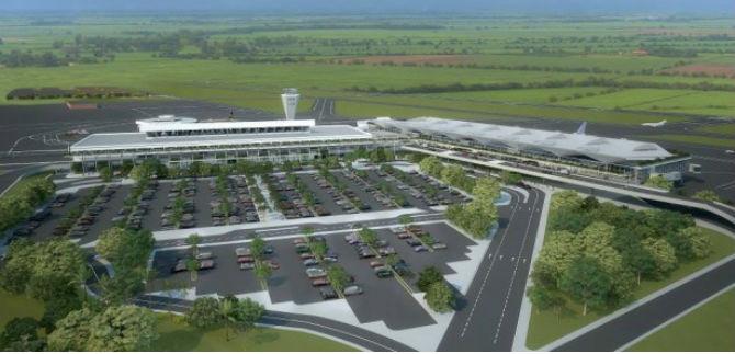 Iniciaron obras en el Aeropuerto Alfonso Bonilla Aragón