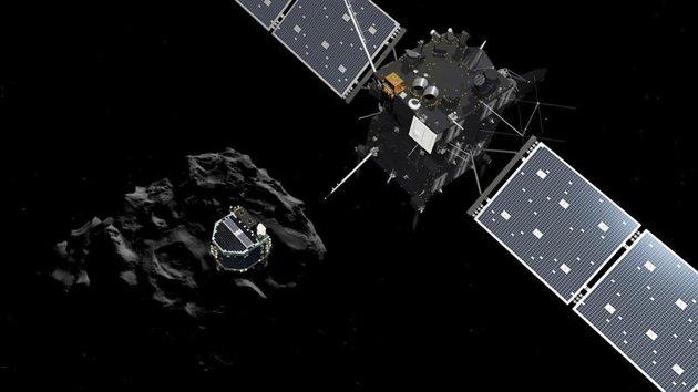 Se hace historia: el robot 'Philae' aterrizó por primera vez en un cometa