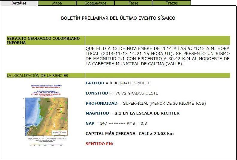 Un leve temblor se sintió en el sector de Calima en Darien