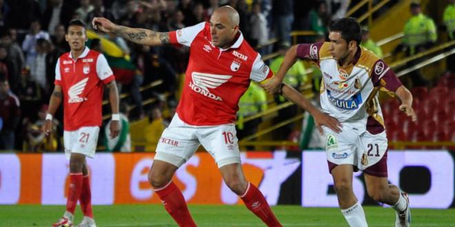 Santa Fe y Deportes Tolima disputan el título de la Copa Colombia